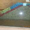 Breakwater cross section: