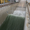 Delta Flume: Large-scale flume with the largest waves in Europe: up to Hs = 2.0 m.
