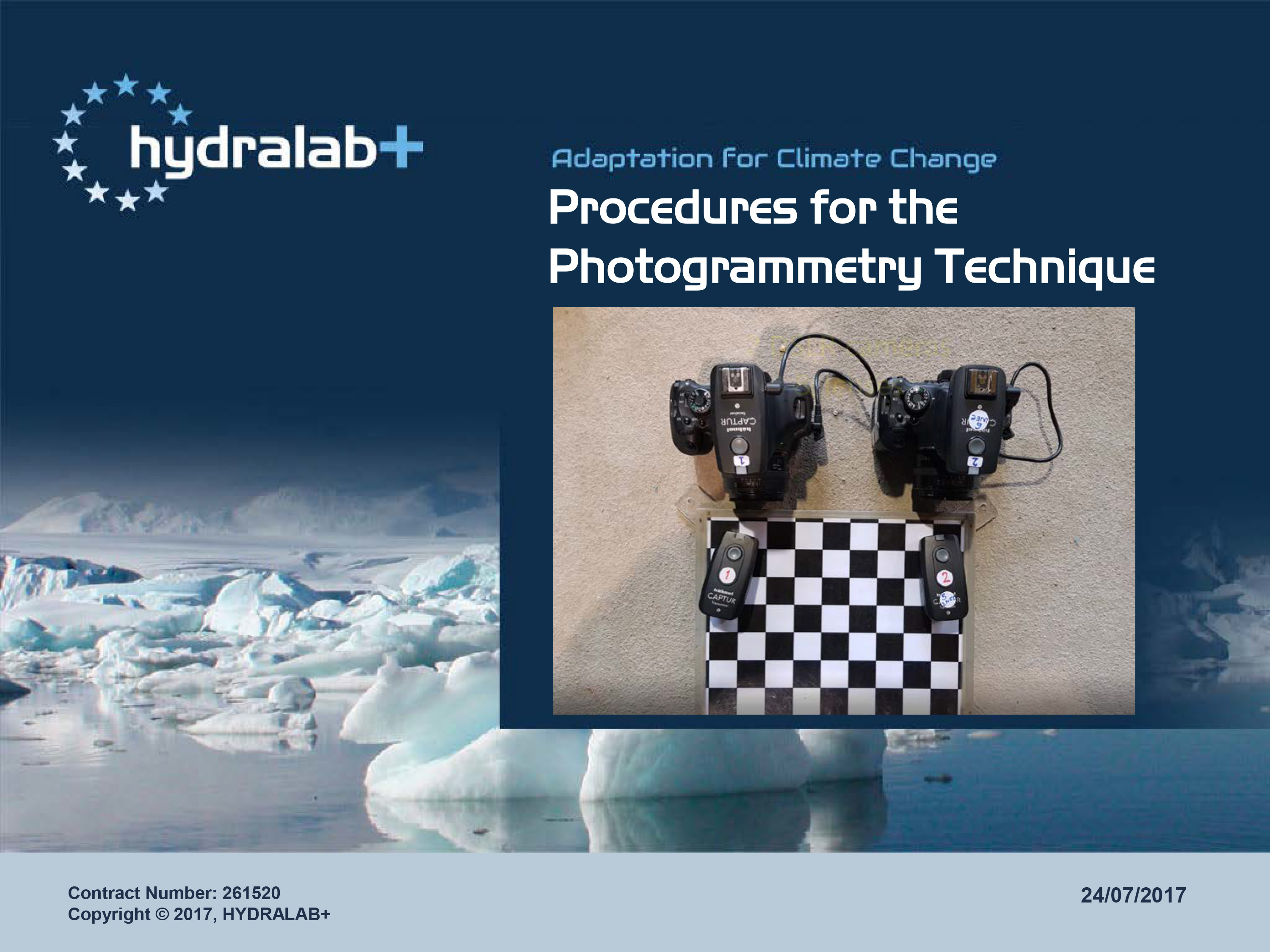 Set-up Photogrametry