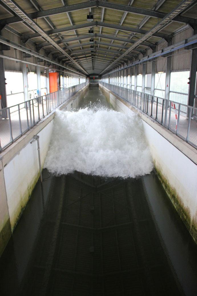 Large Wave Flume, GWK